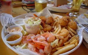 夏威夷美食-阿甘虾餐厅(欧胡岛)