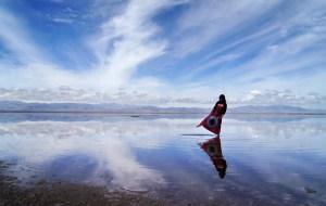 【乌兰图片】青海甘肃环线游之五 (中国的天空之镜,茶卡盐湖)