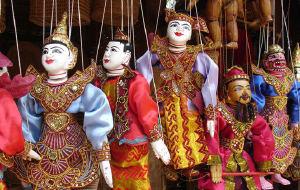 缅甸娱乐-曼德勒木偶剧团