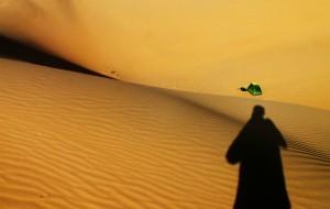 【鄂尔多斯图片】库布齐——行走在大漠的孤寂中