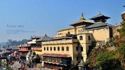 加德满都景点-帕斯帕提那神庙(烧尸庙)(Pashupatinath)