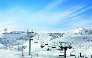 新疆娱乐-天山天池滑雪场