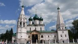 莫斯科景点-雅罗斯拉夫尔先知耶和华教堂