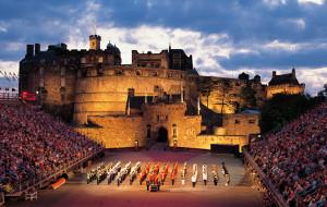 苏格兰娱乐-爱丁堡军乐表演