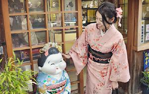 【关西图片】✿日本关西6日自助游 ~京都赏樱~和服体验~奈良看鹿~大阪购物~神户牛肉~✿