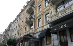 苏黎世美食-Alden Hotel Splugenschloss