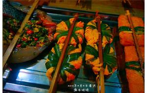 西双版纳美食-江边夜市小吃街