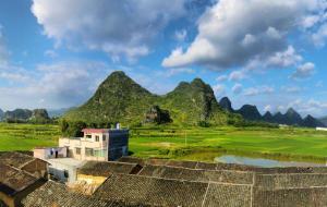 【英德图片】英西峰林小桂林体验农村风光