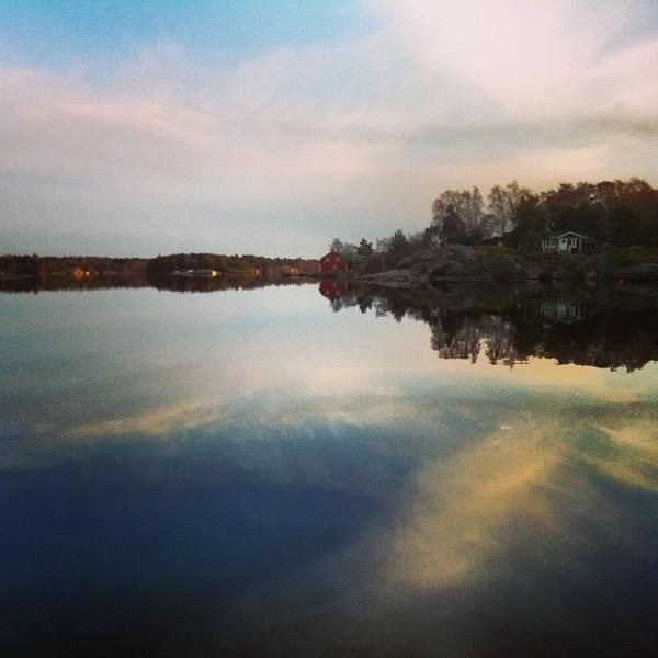 芬兰风景墙绘素材