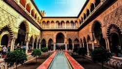 塞维利亚景点-塞维利亚王宫(Royal Alcazars of Seville)