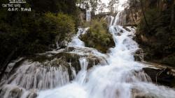 九寨沟景点-熊猫海瀑布