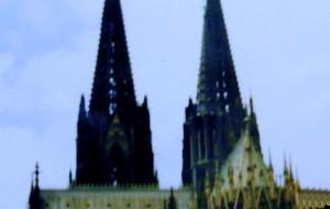"""【科隆图片】1989年07月18日,中欧双城记之""""科隆波恩"""",与马克思难分难舍(2015-12-13上传)"""