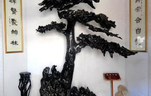 【肥西图片】三河古镇·根雕馆