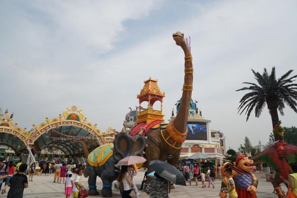 花样游记大赛 常州恐龙园 周杰伦演唱会 上海 常州2日游