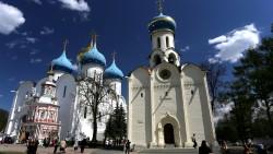 莫斯科景点-谢尔盖耶夫圣三一修道院(The Holy Trinity-St. Sergius Lavra)