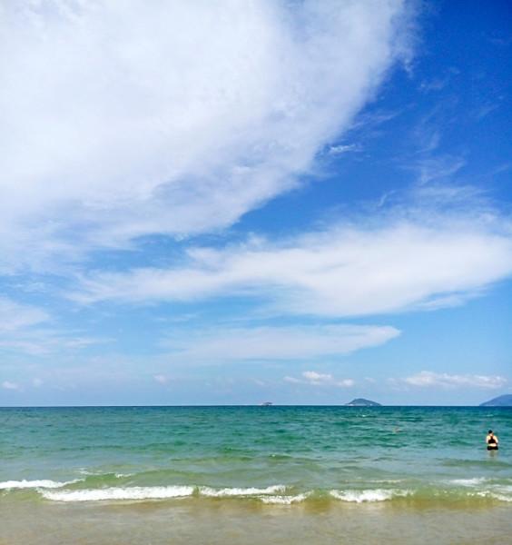 遇见美丽的沙滩遇见天然的港湾 越南岘港5