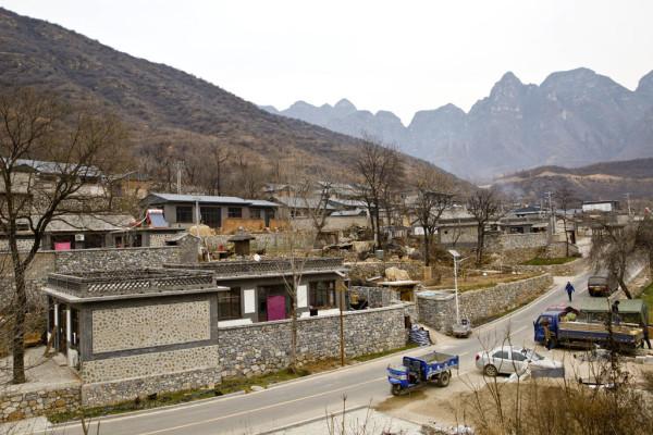 北京十渡风景区村庄