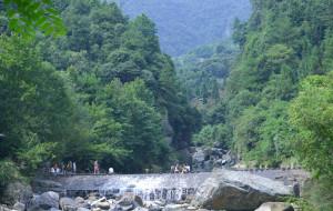 【石台图片】2015年8月秋浦河、牯牛降玩转山水