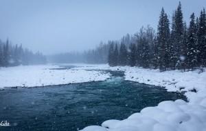 【北疆图片】我们不是荒野猎人,却也被喀纳斯的冰雪彻身净化了一把!