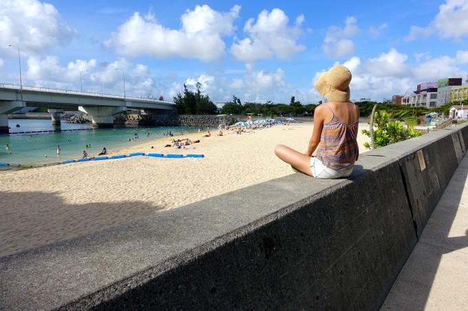 2015年夏天,日本冲绳.