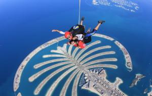 迪拜娱乐-棕榈岛高空跳伞