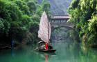宜昌旅游 乘豪华游船到三峡人家一日游(船游西陵峡,过葛洲坝船闸)