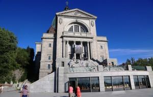 【蒙特利尔图片】美加行之十五-------参观举世无双的圣约瑟夫大教堂