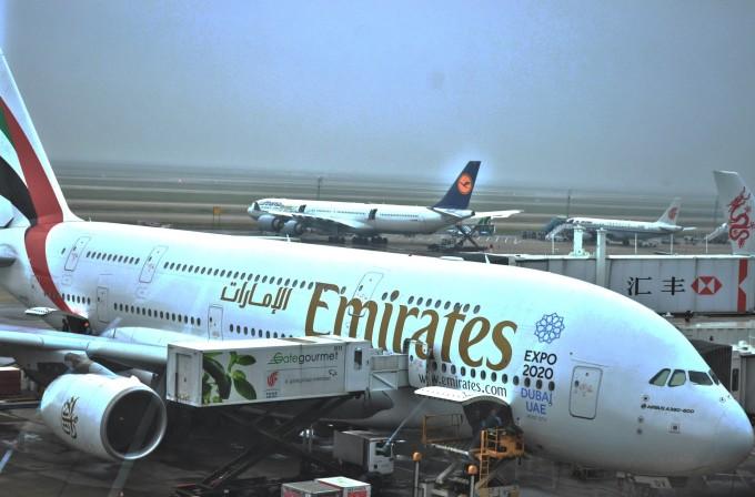 d2  上海浦东国际机场-香港国际机场-台湾桃园国际机场 下午4.