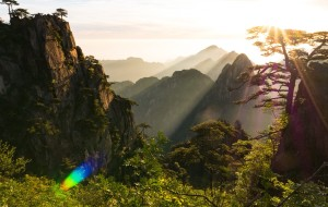 【屯溪图片】水墨的徽州 水彩的黄山