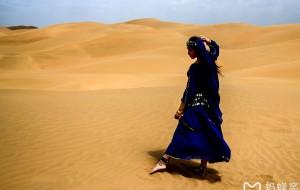【库布齐沙漠图片】带着女儿西北行——库布其沙漠