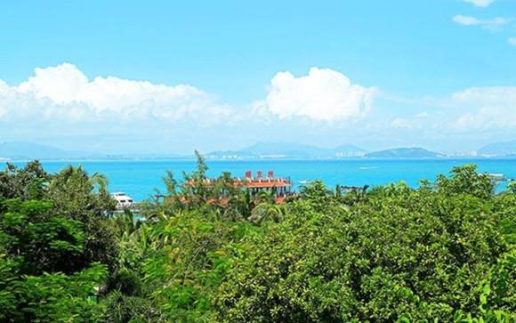 海南三亚 蜈支洲岛珊瑚酒店 双人往返门船票 早餐 接送机 欢迎水果