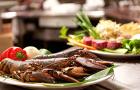 塞班岛悦泰酒店海鲜自助晚餐