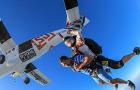 迪拜旅游自由行 高空刺激迪拜跳伞 棕榈岛空中跳伞 飞机跳伞