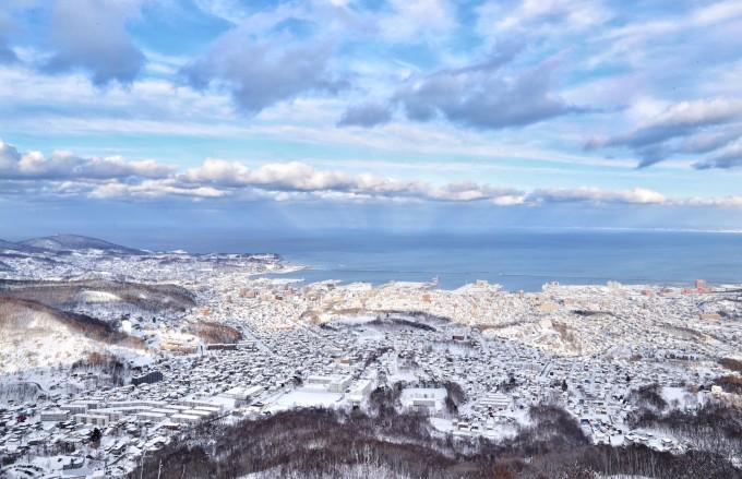 遭遇北海道50年罕见大暴雪 东京跨年——札幌,小樽,函馆,登别,大沼