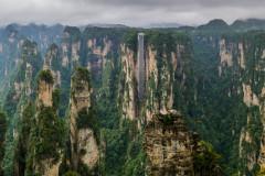 自然造化景如画,奇峰异石迷人眼——行走湘西上篇之张家界