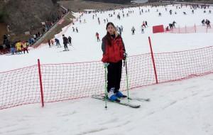 【临安图片】大明山滑雪记