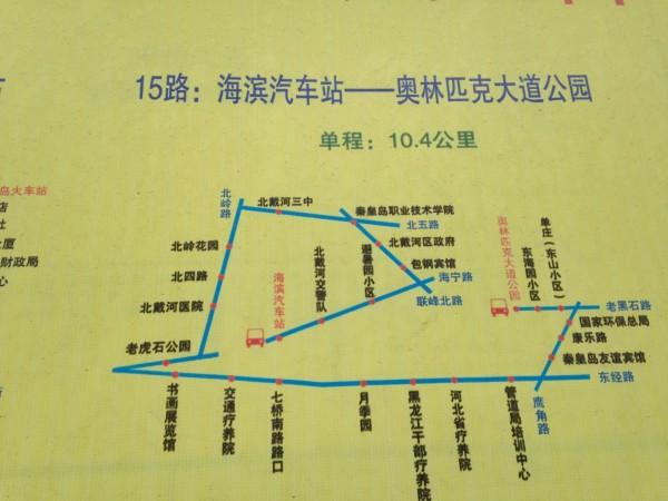 机场大巴线路如下图: 北戴河站距离北戴河应该是最近的了,出火车站