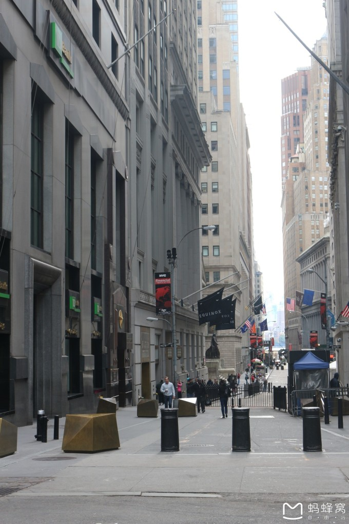 北美之旅.世界著名的紐約華爾街風景實拍