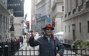 【纽约图片】北美之旅...世界著名的纽约华尔街风景实拍