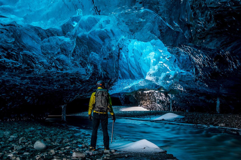 阿拉斯加冰川徒步,亲自踏足这片外太空的幽蓝空间_图16