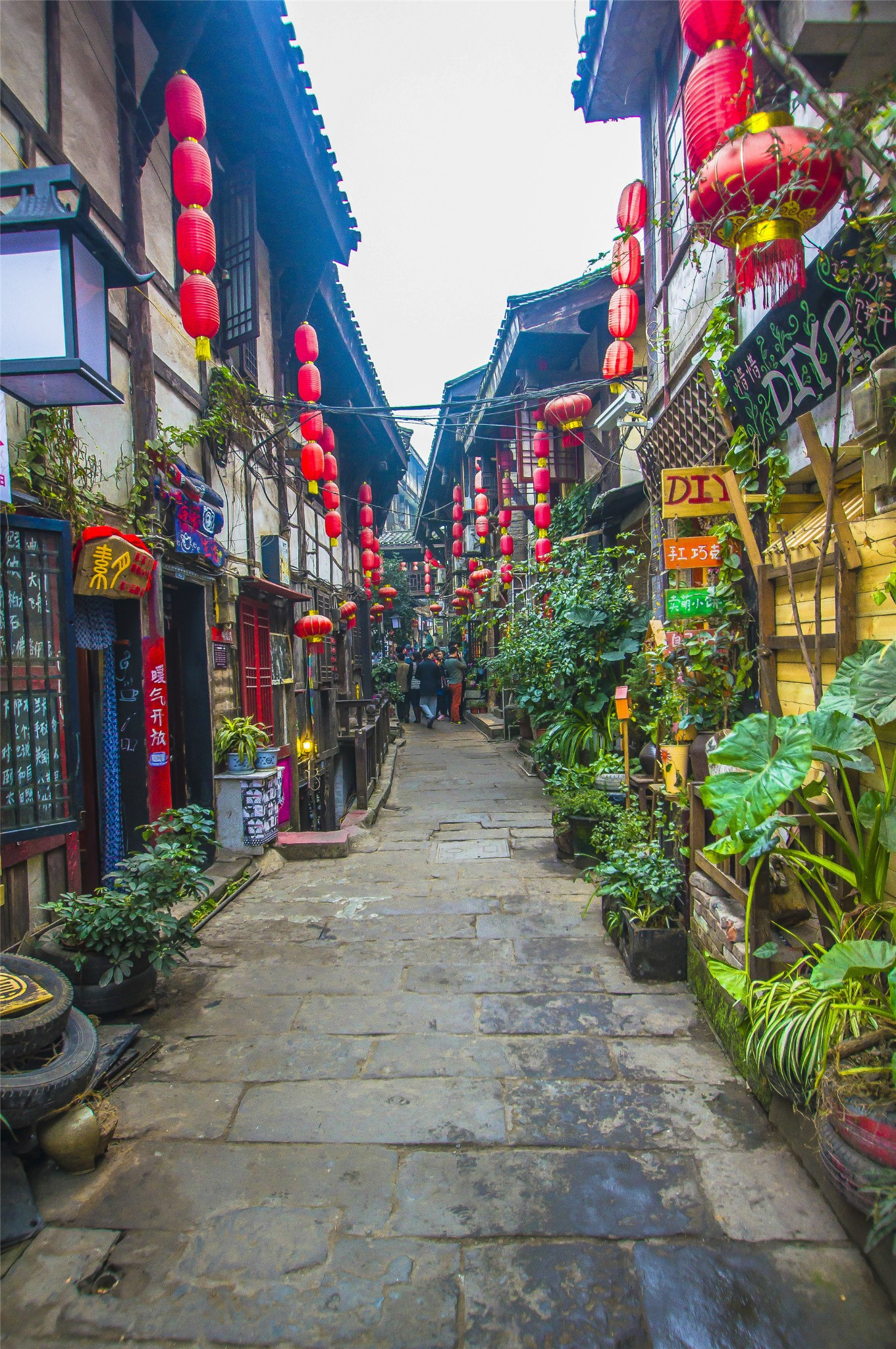 ChongQing Ciqikou ancient town